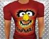 FUNNY ANIMAL TSHIRT MUSC
