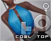 TP Cowl - Sky+Copper