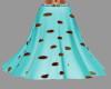 [BRI]Teal-Brn Skirt