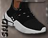 Athletic Shoes Black (M)