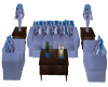 Light Blue Wolf Couch Se