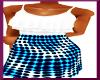 $A$ KIDS BLUEBERRY DRESS
