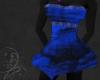 Blue and Black MiniDress