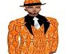 OG Dress Suit Orange