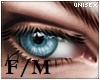 Unisex, Blue, Ocean eyes
