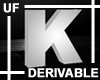 UF Derivable Letter K