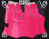 Hot Pink Monster Shoes