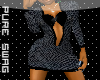 PS™ SlateGraySnake Dress