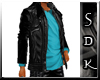#SDK# Dark Jacket Cyan