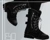 .Black Boots.