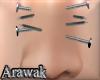ak | nose nails F