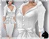 !Sash Suit White