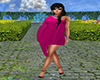 GL-Magenta Beach Dress