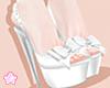 🌟 Ribbon Heels|Wt