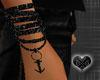*Anchor Black Bracelet R