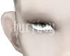 blank eye