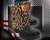 *E* Leopard boots