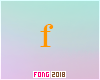 Fo. G Letter Orange