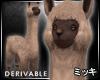 ! Brown Llama #Animate