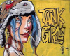 Tank Girl Graffiti