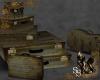 Steampunk Grungy Luggage