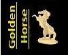 Golden Horse Statue