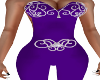 Kindra Bodysuit-Violet