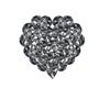 [i] Heart jewel ballons