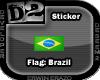 [D2] Flag Brazil