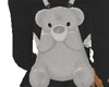 TeddyBear BackPack Gray