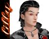 Vampire stripe hair