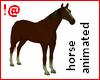 !@ Animated horse