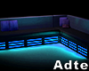 [a] Neon Glow Couch Blue