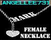 FEMALE NECKLACE - MARK