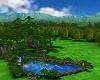 Lakeside Garden Escape