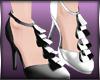 +Ruffled Shoes+Mesh