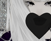 heart bubblegum black