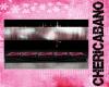 Pink Zebra Bench