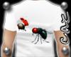 |CAZ| Ladybug & Fly Tee