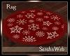 Christmas Snowflake Rug