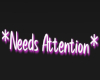 Need Attention Head Sign
