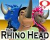 Rhino Head -Female