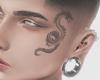 Face Dragon Tattoo