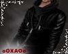 [XA] bull black jacket