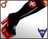 PVC nurse boots black(m)