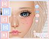 . Blue & Pink Beads