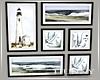 H. Coastal Picture Set