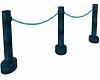 blue/teal rope
