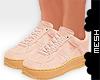 ! Peach Sneakers