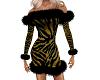 Tiger striped dress